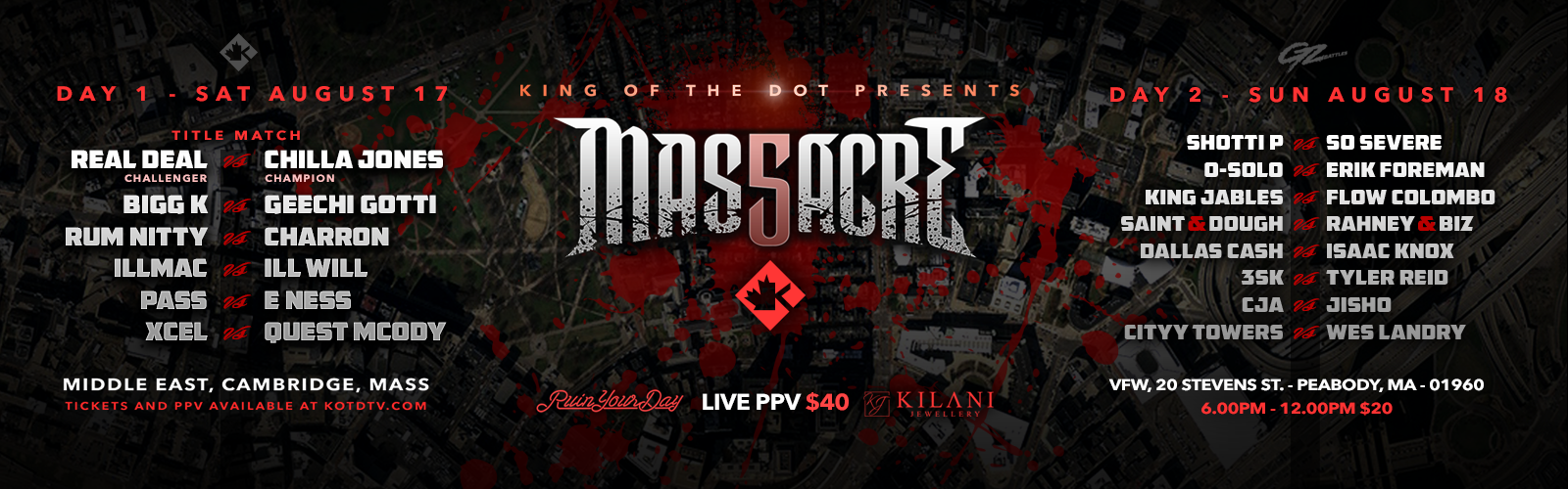 The #1 Source to Watch Rap Battles Live | KOTD TV